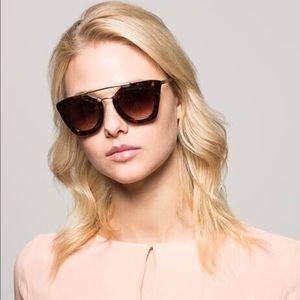 Prada // Tortoise Medium Havana Sunglasses